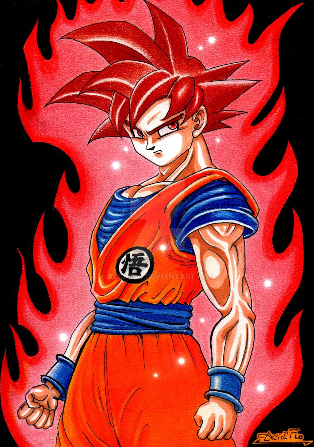 Wallpaper Goku Super Saiyan 100