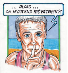 FRANCK DUBOSC alias Patrick Chirac by Acid-Flo