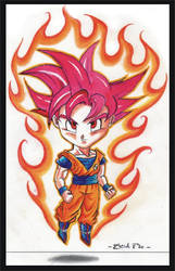 SON GOKU SUPER SAIYAN GOD 002