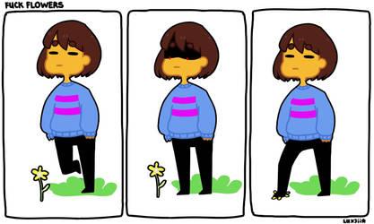 Fuck Flowers by Luxjii
