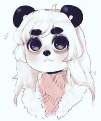 panda panda panda by Luxjii