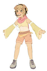 Ayaka redraw by Luxjii
