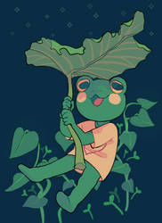 2019 frog by Luxjii