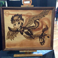 Woodburned Wonderbolts by Hooved-Hobbyist