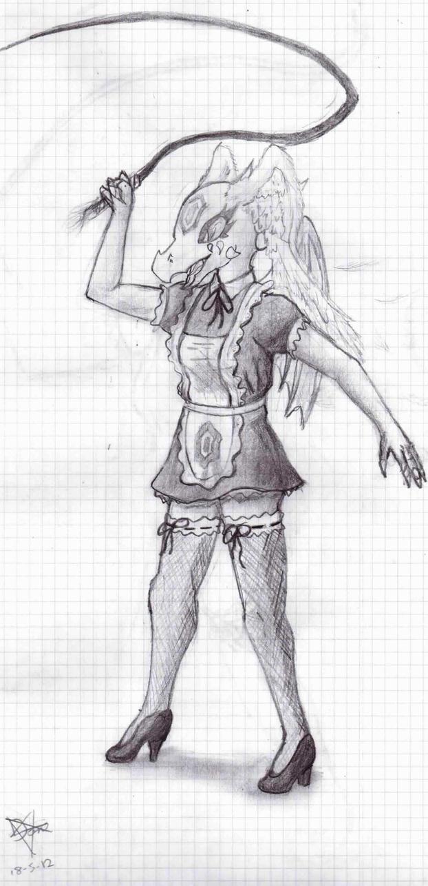 Aelion Maid Warrior by HellKnightDan