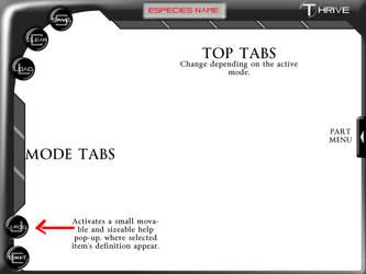Thrive editor interface v2 by HellKnightDan