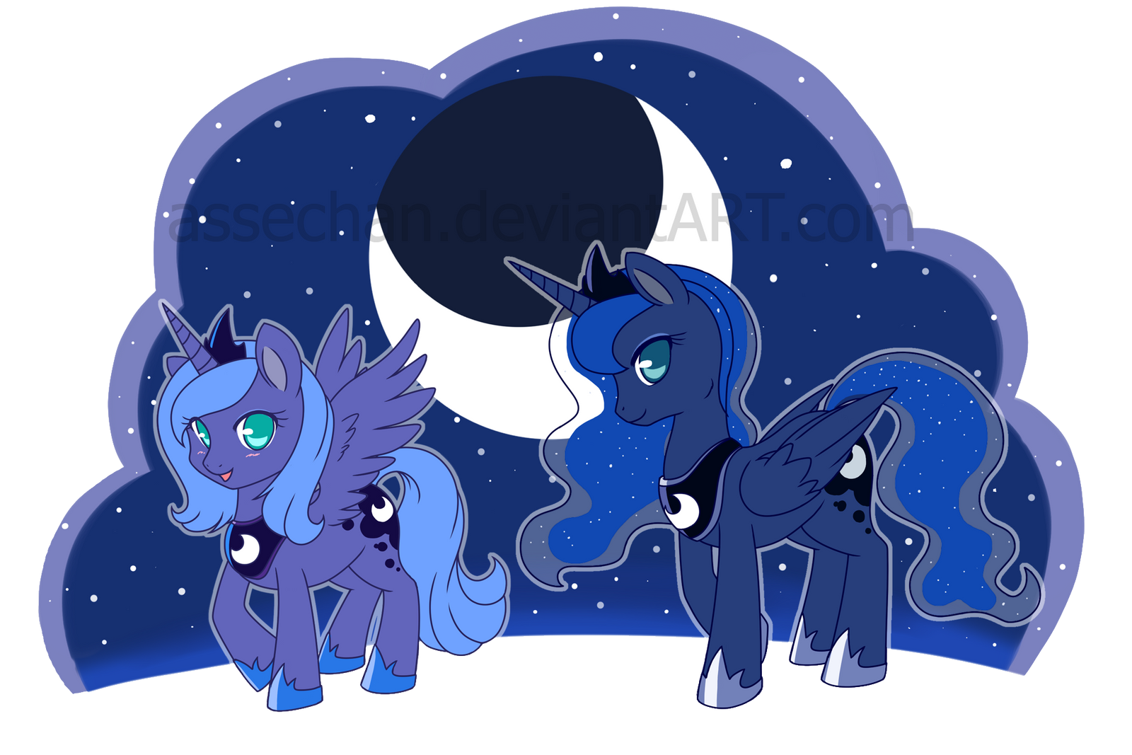 Princess Luna by Assechan