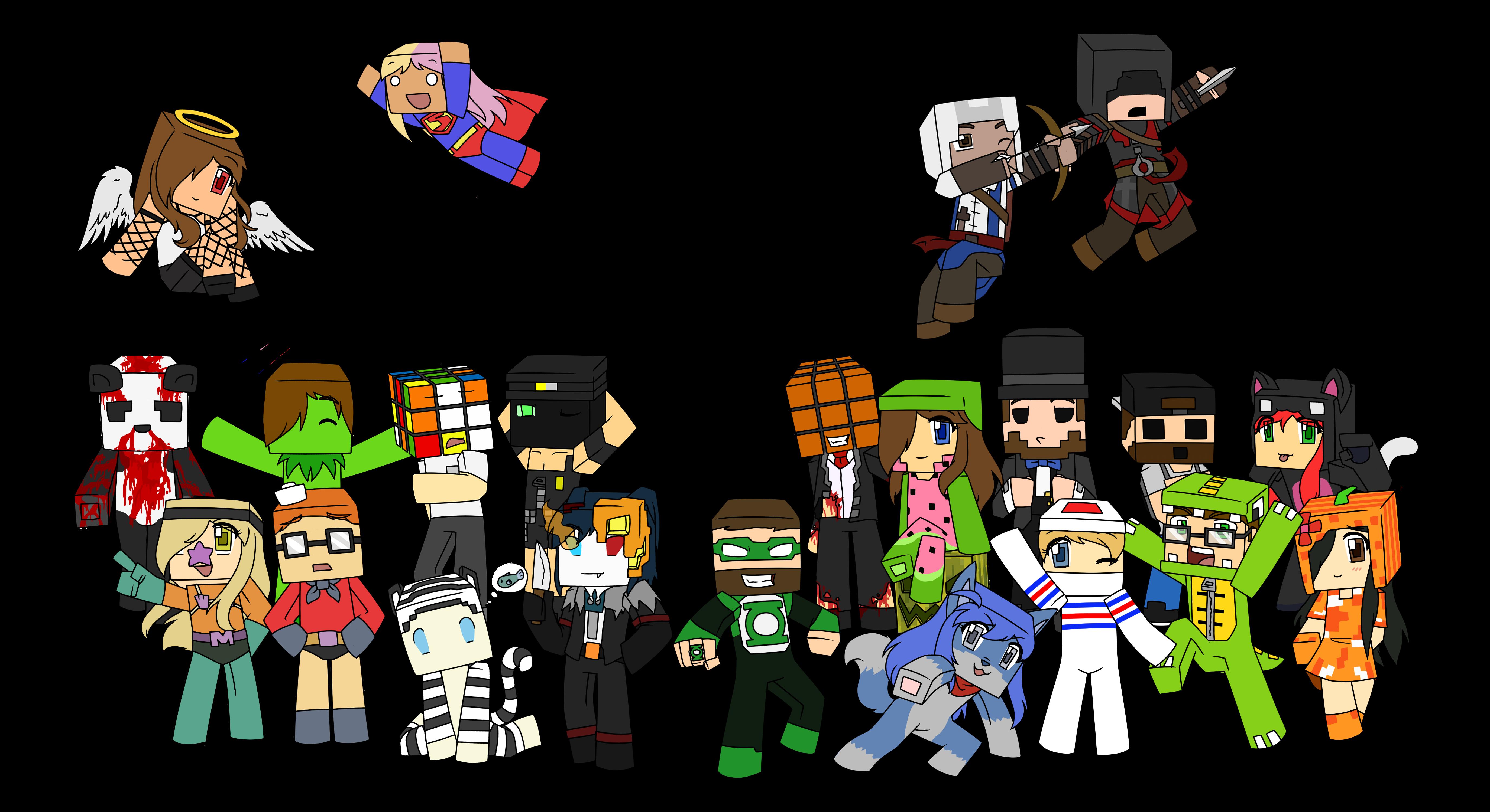 Minecraft Halloween WIP by Assechan on DeviantArt