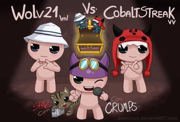 Wolv21 vs CobaltStreak BoI Race Finals by Assechan