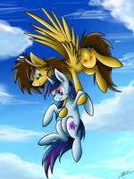 Flying Unicorn by Hilis