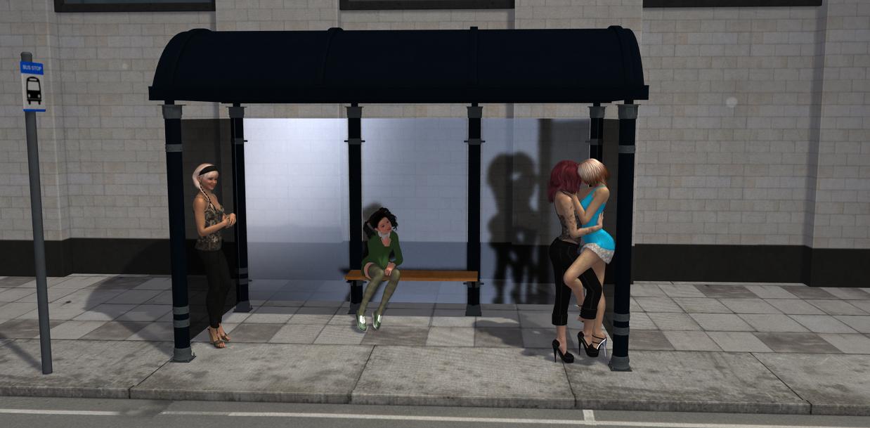 Bus Stop by Tricksterssden