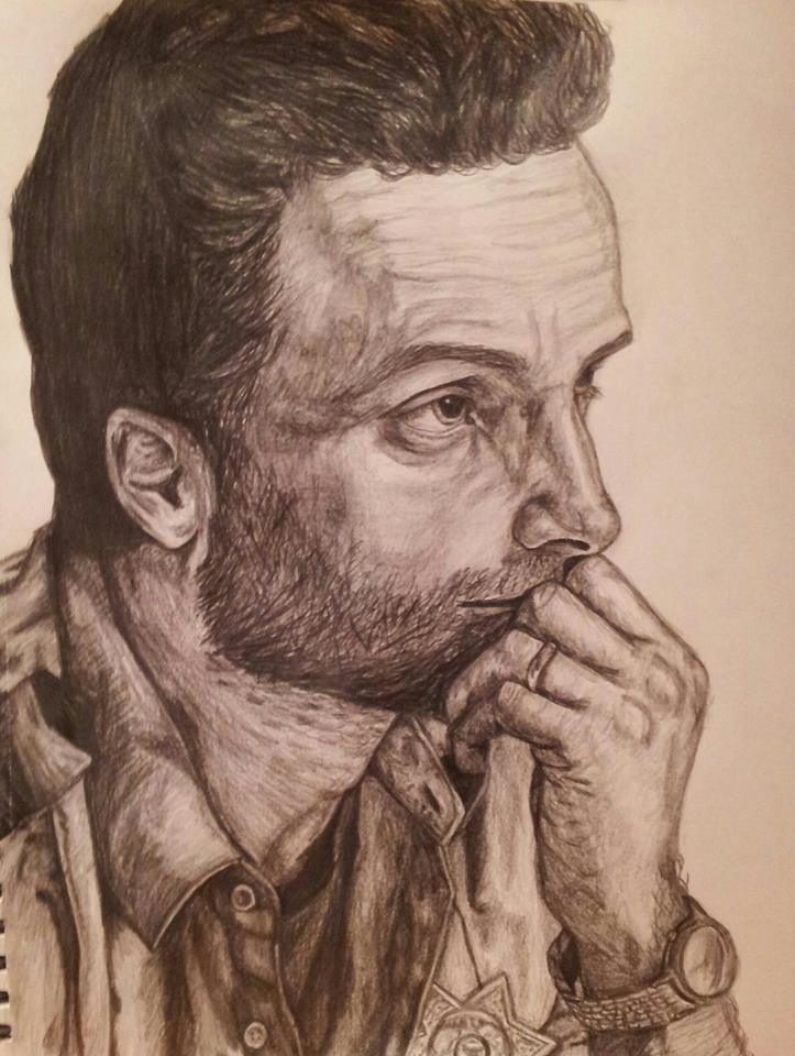 The Walking Dead - Rick Grimes by itsshannon