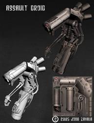 Assault Droid by jzsk8ordie