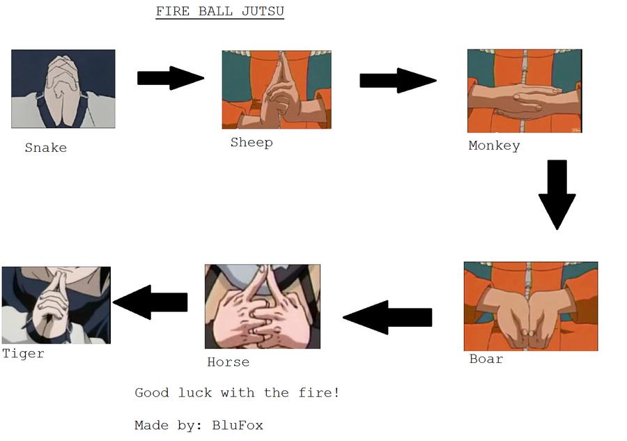 How to do the Fire Ball Jutsu by NarutardedBluFox on ...