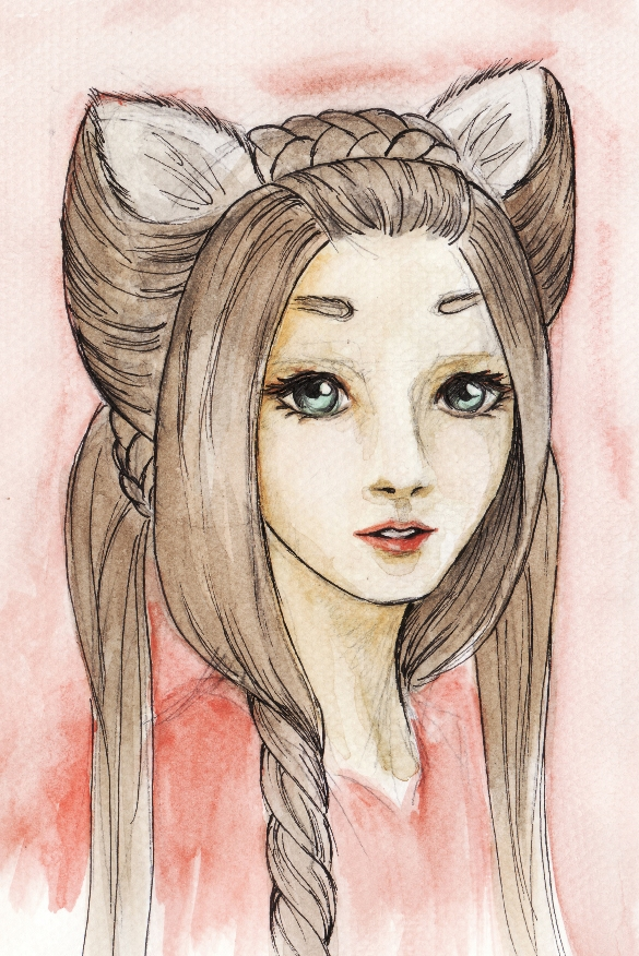 the fox lady by kiriyoru