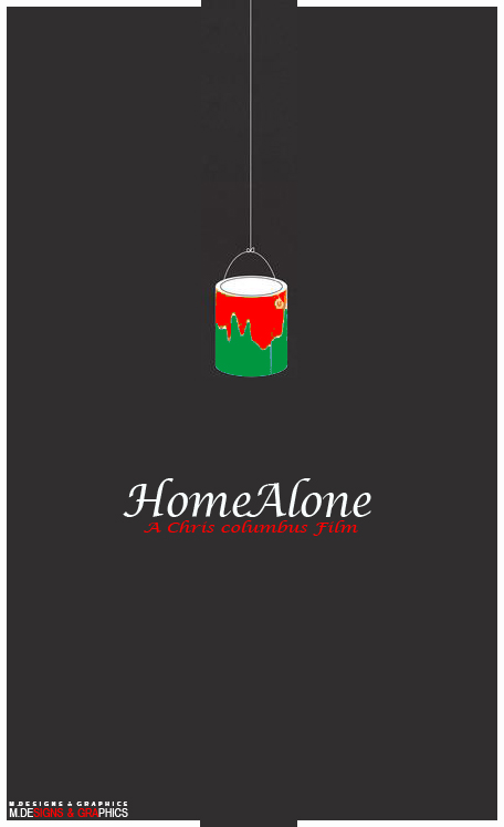 home alone by m design and graphic - Home Graphic Design