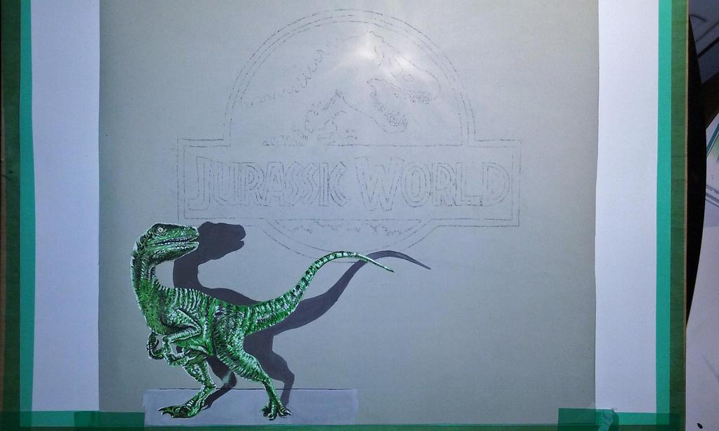 Jurassic World wip by BluLeone