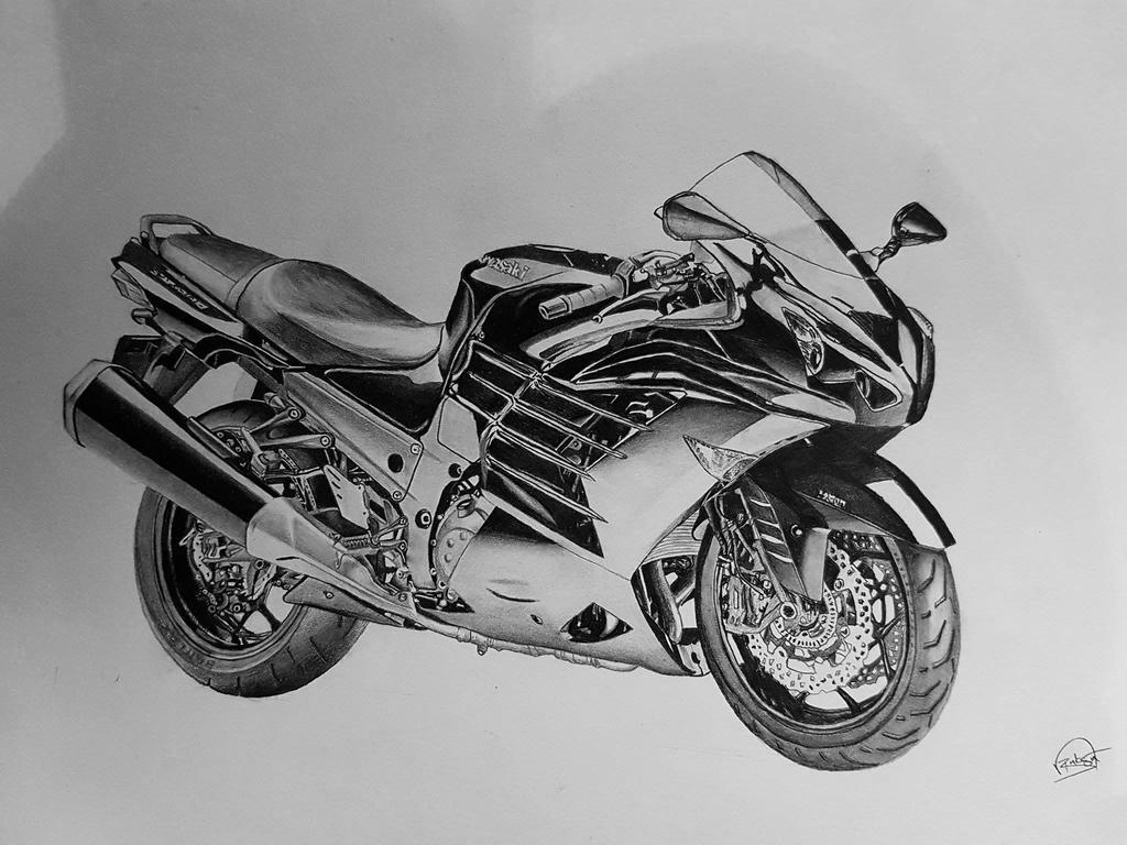 Kawasaki zzr1400 by BluLeone