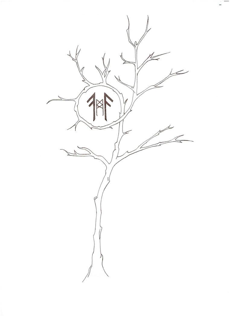 A Vikings Tree by Aalieyah