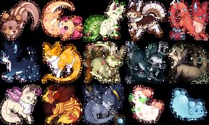 {P} Stickers!