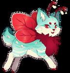 {P} Vintage Poppy Mothcat - Approved!