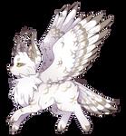 {P} Snowy Owl Mothcat - Approved!