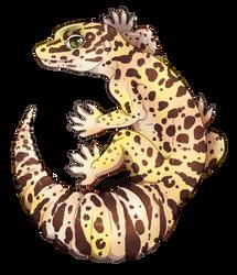 {T} Gecko Friend by Viidoll
