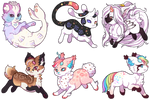 {T} Mild-Otaku Stickers