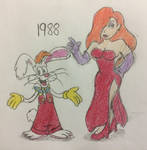 Toon June - 8 - Roger and Jessica Rabbit