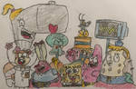 SpongeBob and the Gang