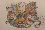 The First Three Nicktoons