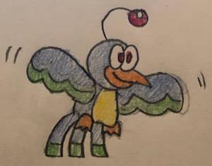Finley the Robot Bird