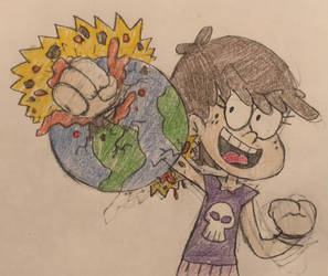 Luna Punches the Earth