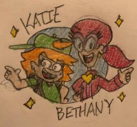 Katie and Bethany Logo