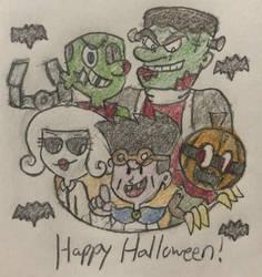 The Halloween Pack by JJSponge120