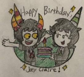 Joey Claire Birthday
