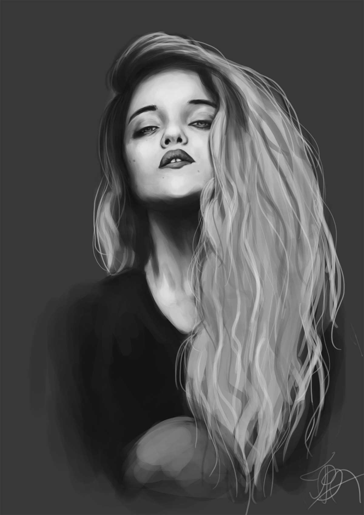 Sky Ferreira by T-B-A on DeviantArt
