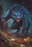 Werewolf by FlerPainter