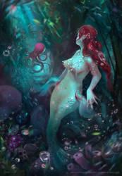 Mermaid by FlerPainter