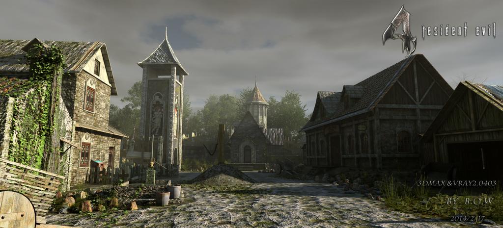 Resident Evil4 Remake Village by Bowu on DeviantArt