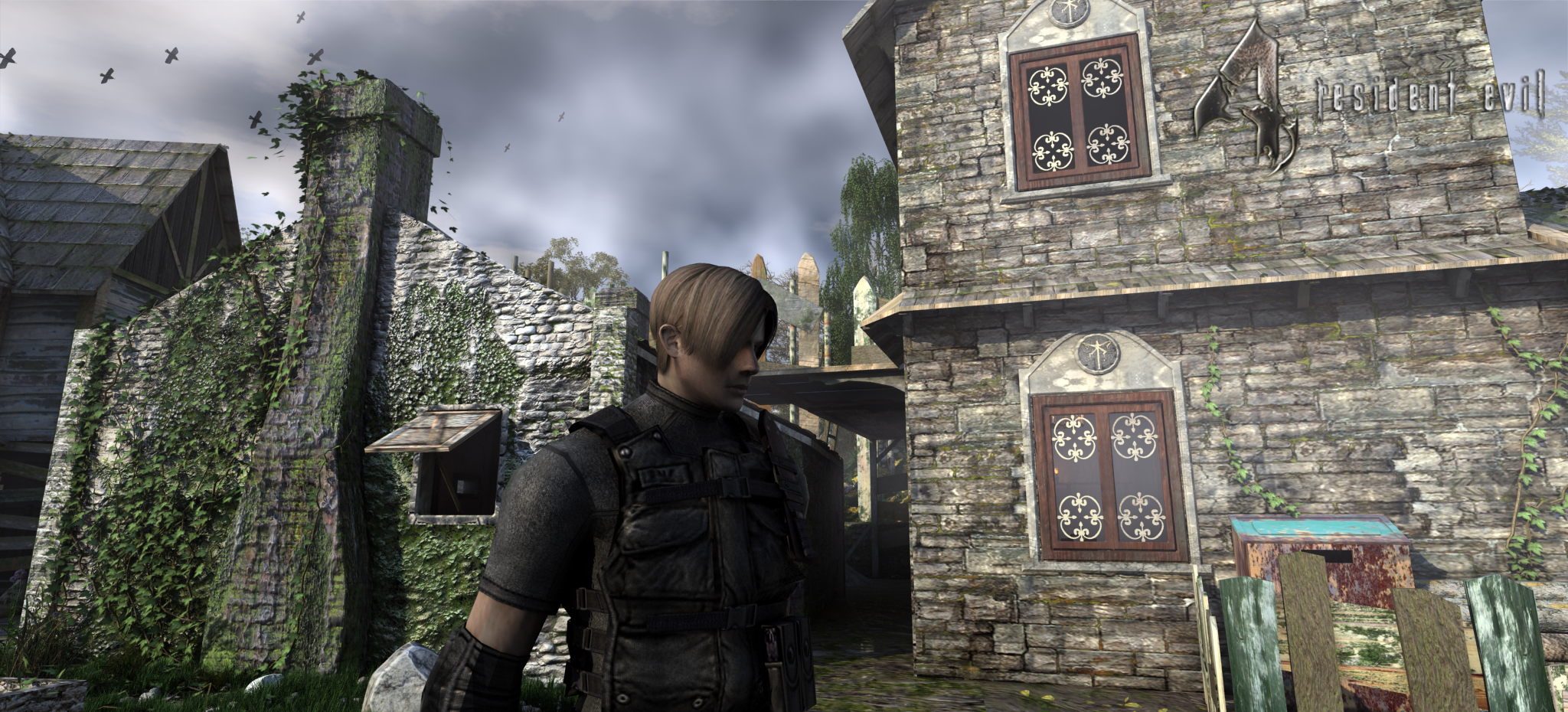 Resident Evil4 remake leon by Bowu on DeviantArt