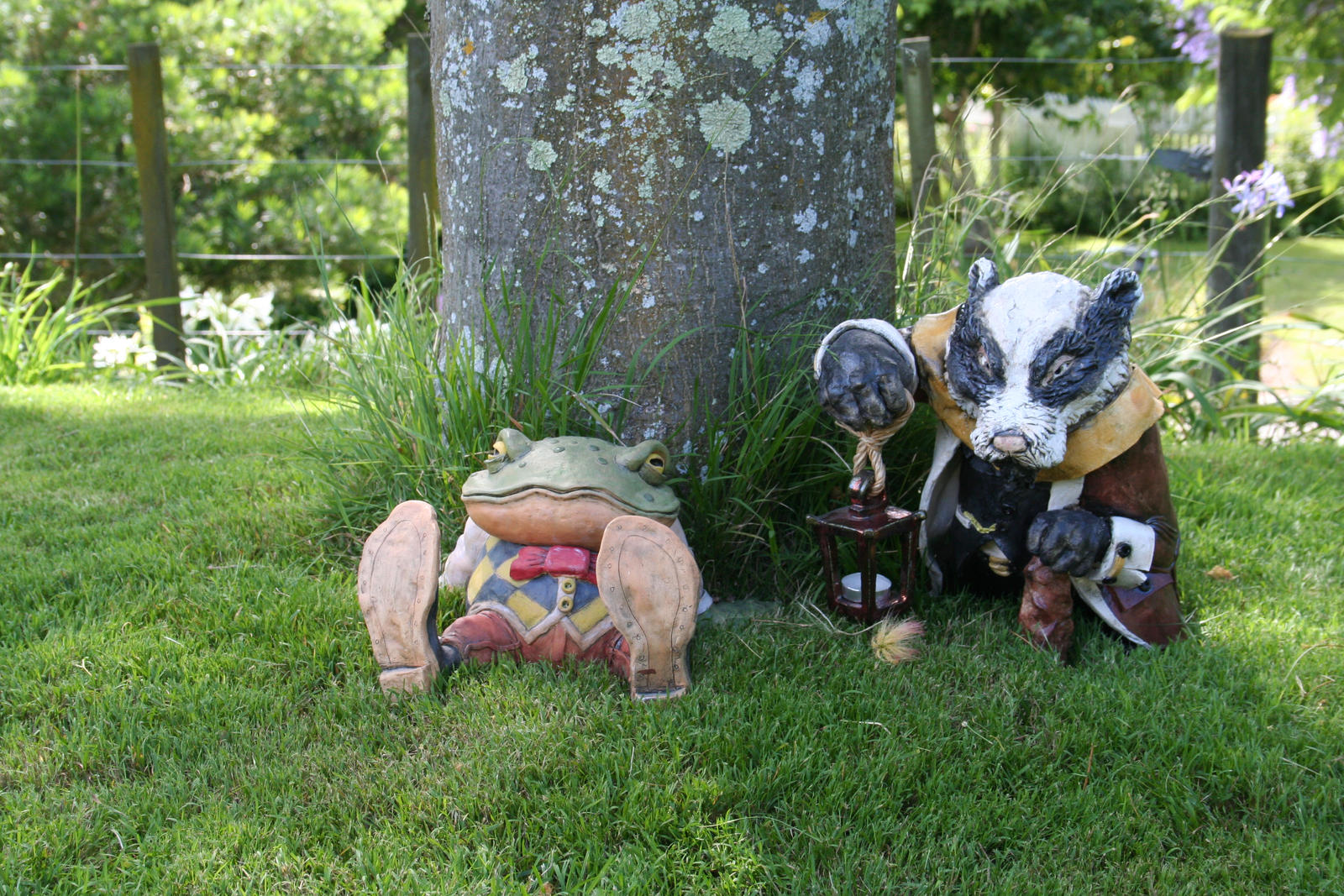Wind in the willows ornaments -  Toad Of Toad Hall And Badger Wind In The Willows By Sirmuxlow