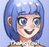 Thank you! by Zhekri