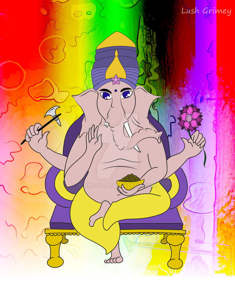 GaneshaChaturthi by bin-g0