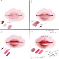 Lips Tutorial by Annas-2Art2