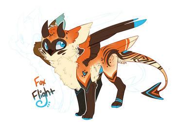 Daily Adopt: Fox Flight by Feniick