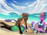 Kebanzu Summer Prompt: Sand Castles