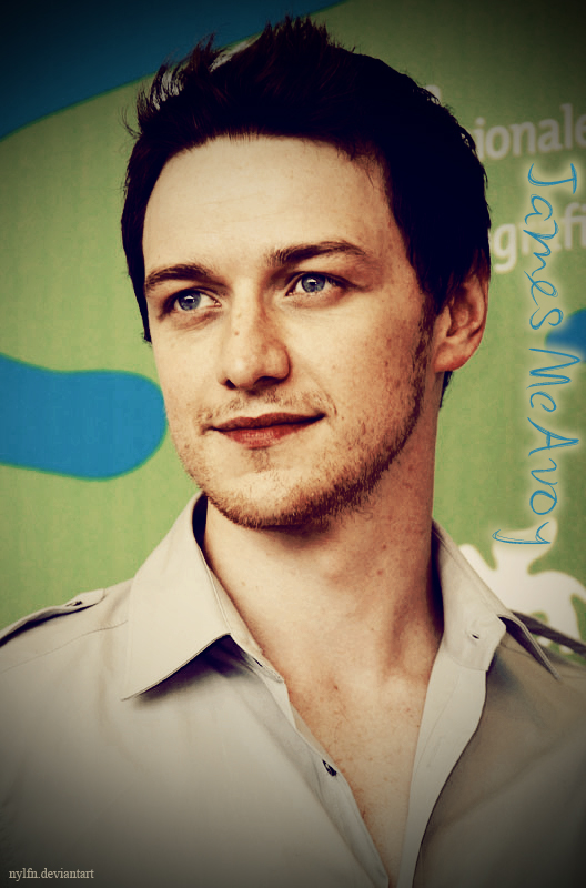 James McAvoy by nylfn