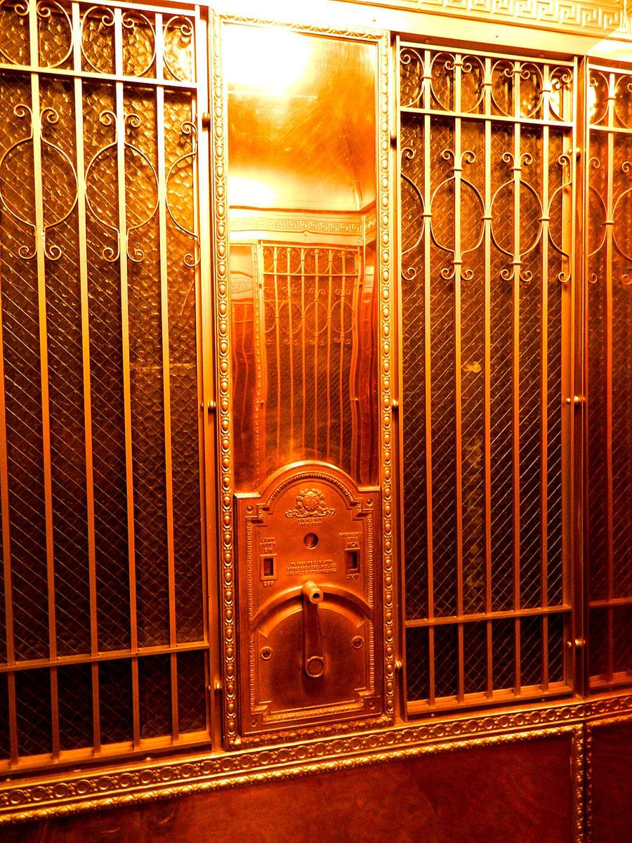 Stanley Hotel elevator 5 by deathofsphinx