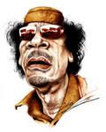 Kadhafi caricature